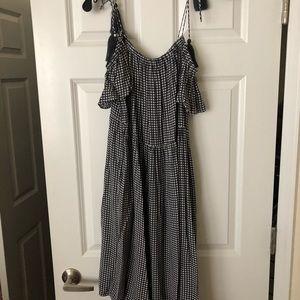 Grunge gingham dress